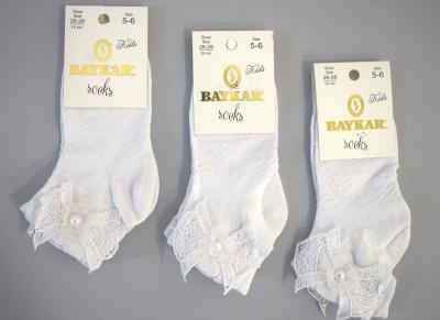 Носки хлопковые для девочки