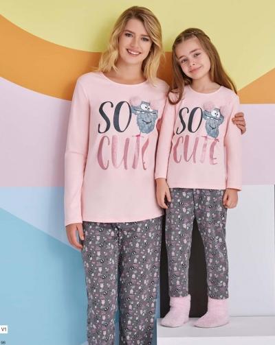 Пижама подростковая для девочки.