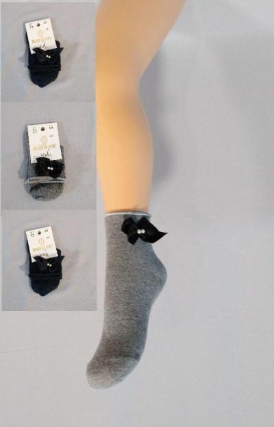 Носки хлопковые детские для девочки