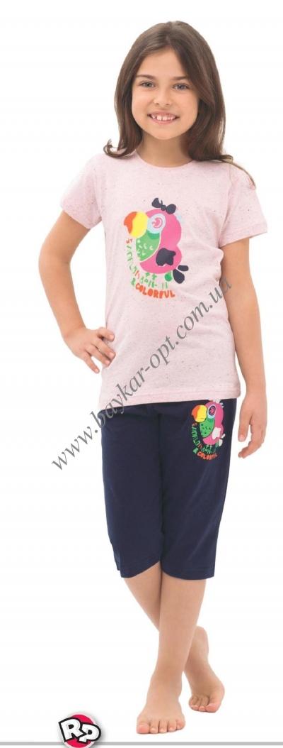 Пижама детская  для девочки (1-8)